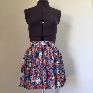 Aeropostale Floral Skirt